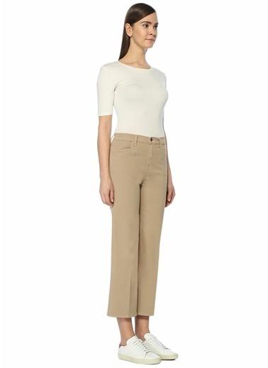 Yüksek Bel Bol Paça Pantolon-J Brand